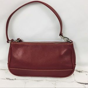 COACH Mini Maroon Handbag Like New Condition